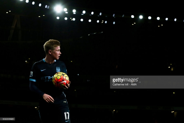 de bruyne arsenal