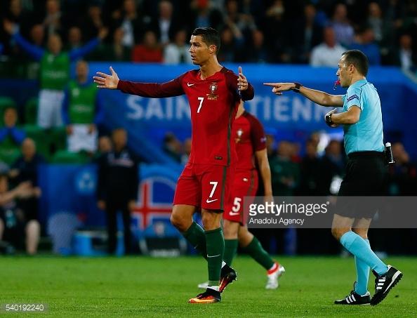 Portugal ronaldo iceland euro 2016